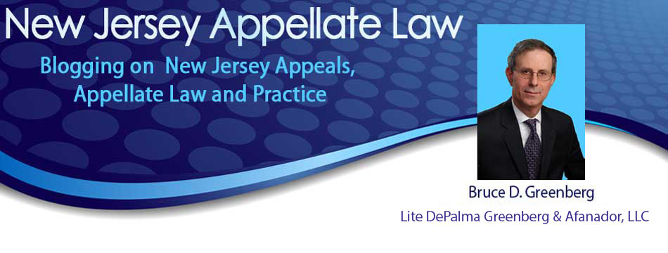 Appellate Law NJ Blog